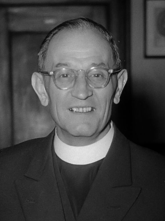 """Martin Niemöller (1892-1984) commanded the UC-67 submarine in 1918. Later he became an anti-Nazi Lutheran pastor most known for his quote: """"First they came for the Socialists, and I did not speak out—Because I was not a Socialist…"""""""