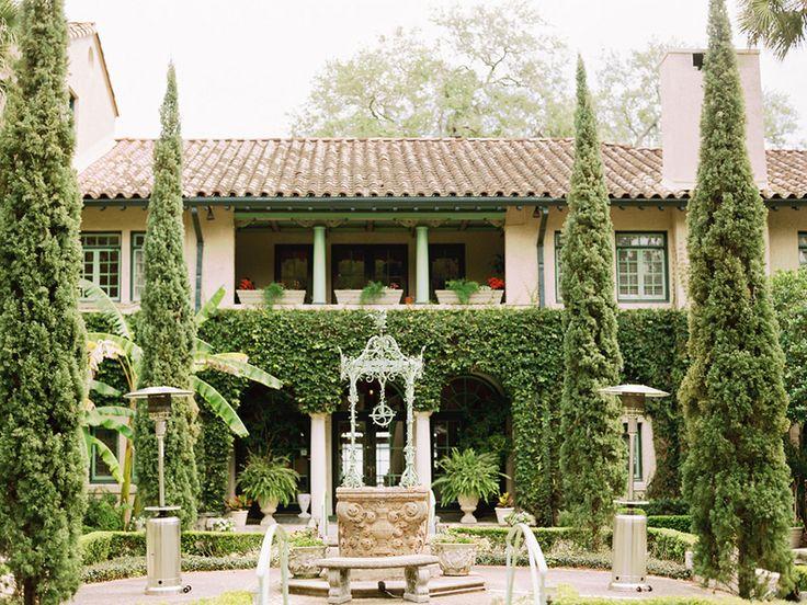 Elegant Outdoor Florida Wedding | Florida wedding venues ...