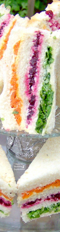 Vegetable Tea Sandwiches - Recipe