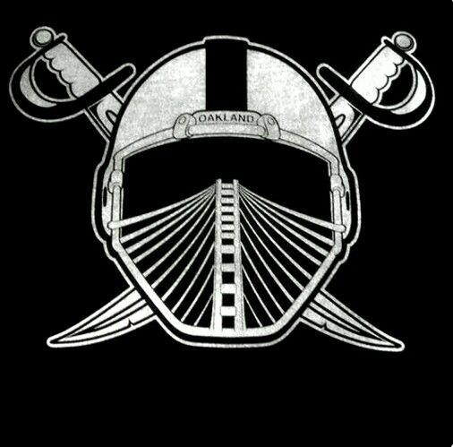 Oakland Raiders Los Angeles Raiders Silver and Black