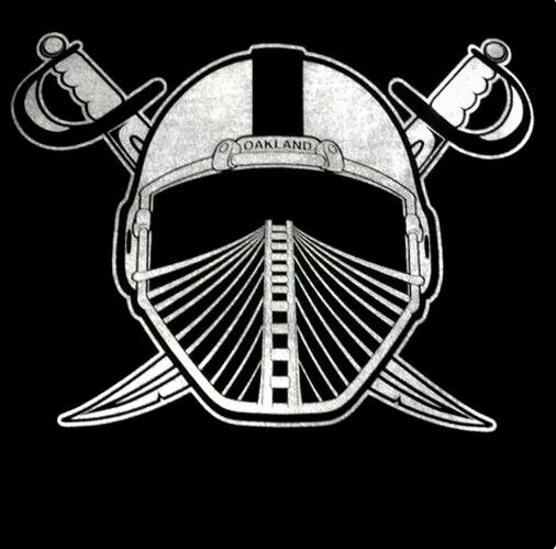 Oakland Raiders Los Angeles Raiders Silver and Black