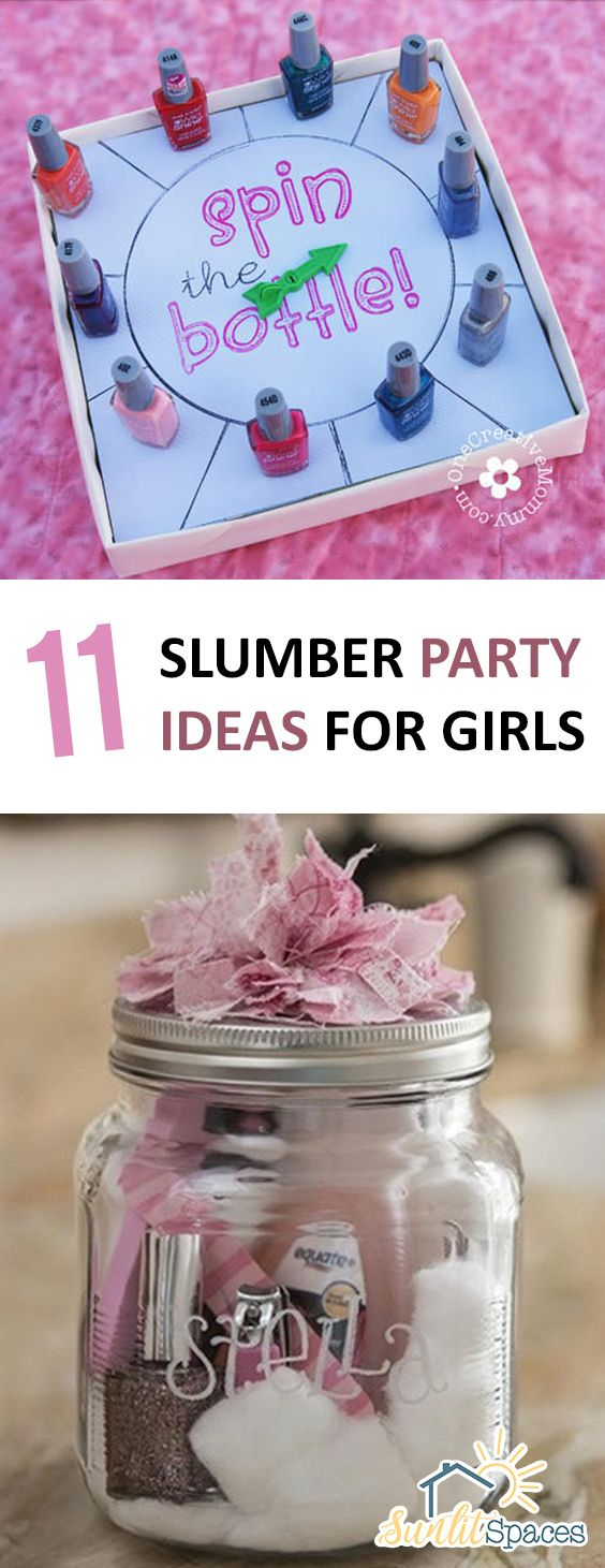 Super fun slumber party ideas for girls of all ages!