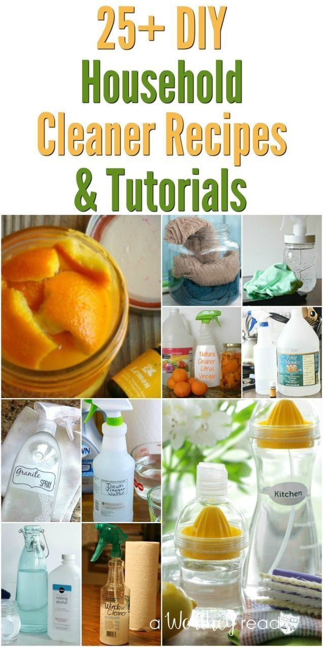Easy DIY Household Cleaners to use during Spring Cleaning and Fall Cleaning! 25 …