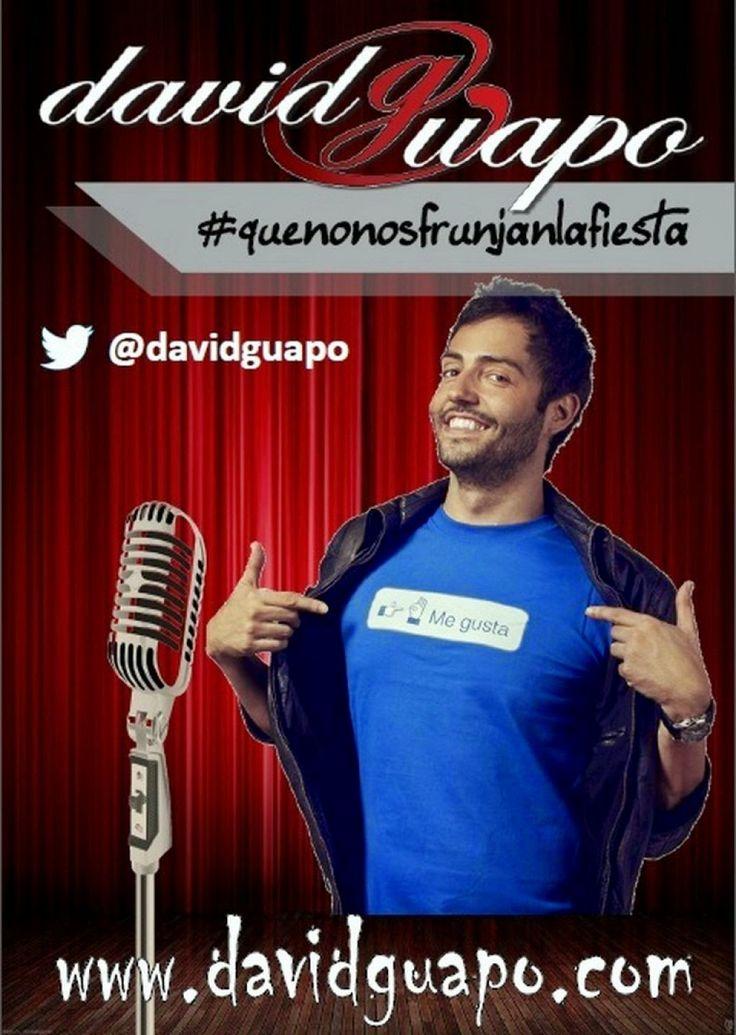 El humorista David Guapo presenta su show en el Auditorio de Teror.