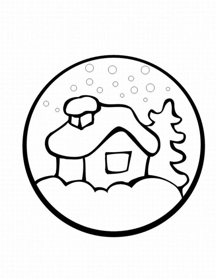 Bonitos Dibujos De Navidad Para Colorear Faciles.1001 Ideas De Dibujos Navidenos Para Colorear Navidad