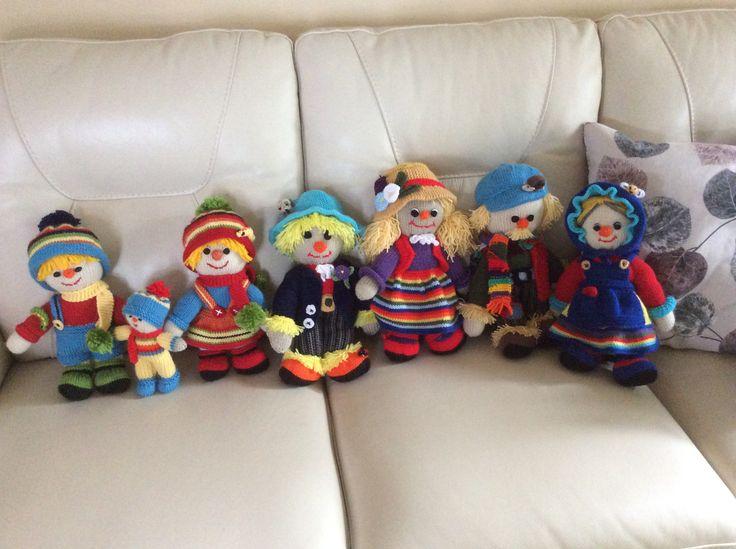 The Scarecrow Family