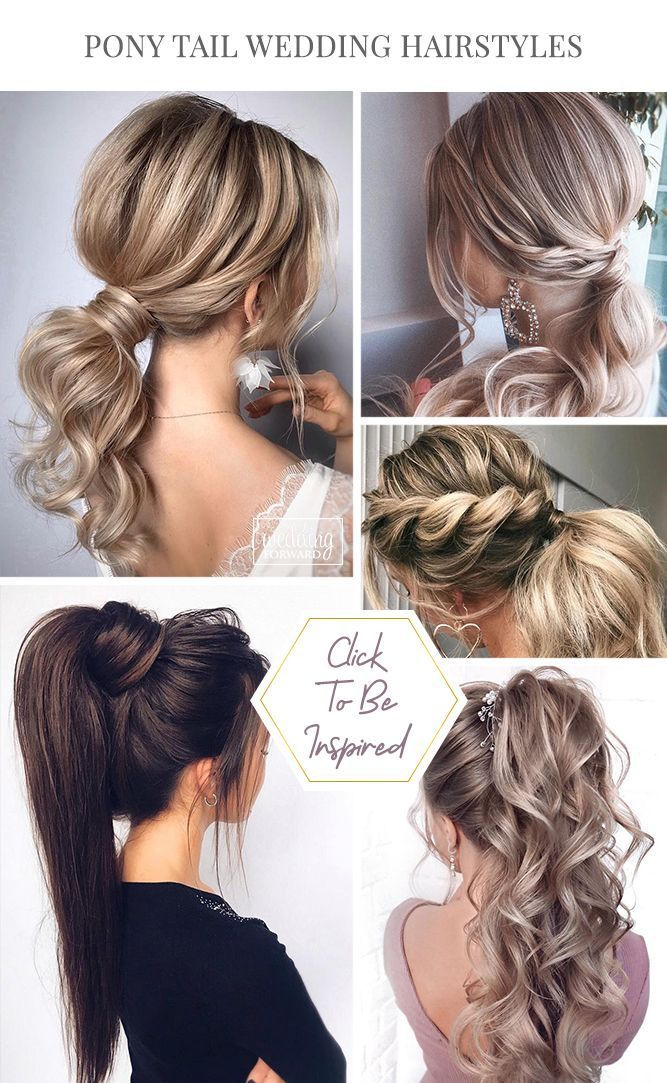Prom Hairstyles Pony Tail Hairstyles For Your Wedding Party Look Pony Tail Hairstyles Are So Chic And Styl In 2020 Hair Styles Elegant Braided Hairstyle Tail Hairstyle