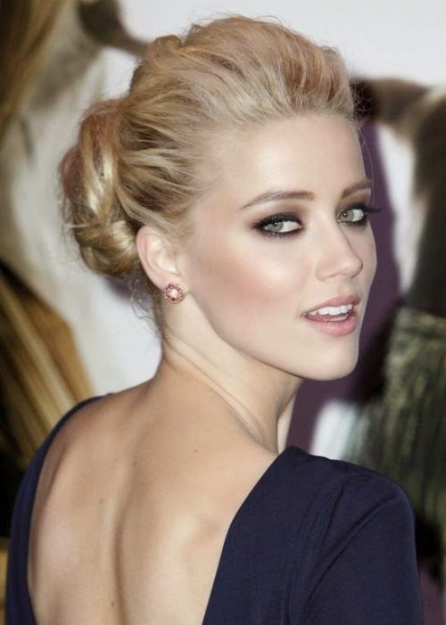 Wondrous 1000 Ideas About Celebrity Updo On Pinterest Short Updo Wedding Hairstyles For Men Maxibearus