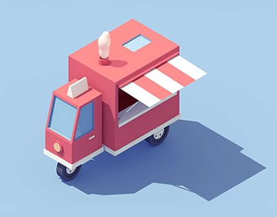 Series of vehicles animations / Personal project
