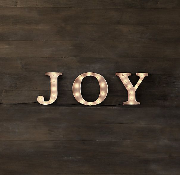 "Joy 13"" x 40"" $150 Restoration Hardware"