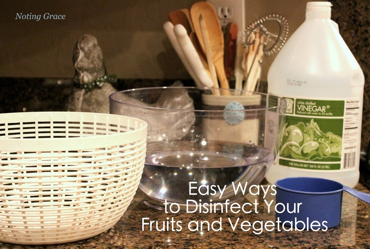 **Noting Grace**: Vinegar Fruit Wash Using a Salad Spinner
