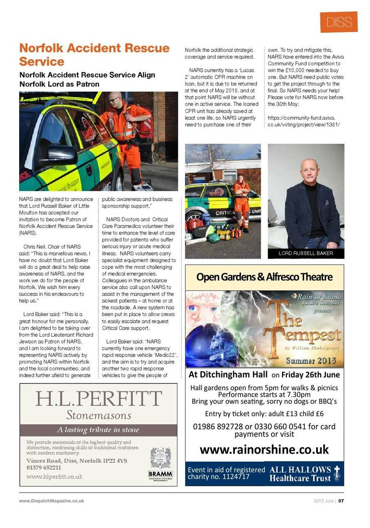#ClippedOnIssuu from Diss & Attleborough - June 2015
