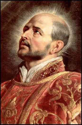 St. Ignatius of Loyola. This man came up with the 30 day Spiritual Exercises. A saint for our times! :)