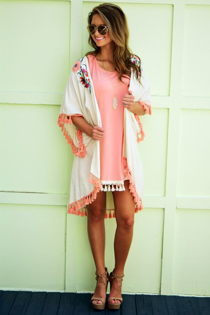 Judith March: Just Another Daydream Kimono: Multi #shophopes