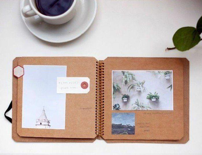cahier de voyage, élément d'architecture, plantes vertes
