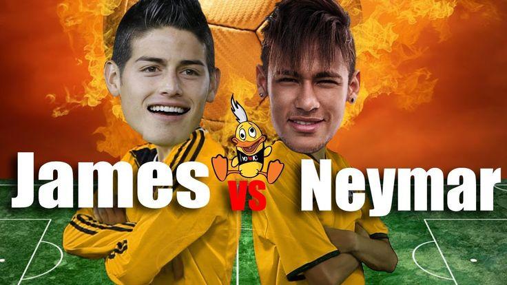NEYMAR VS. JAMES RODRIGUEZ (English subtitles) - Internautismo Crónico