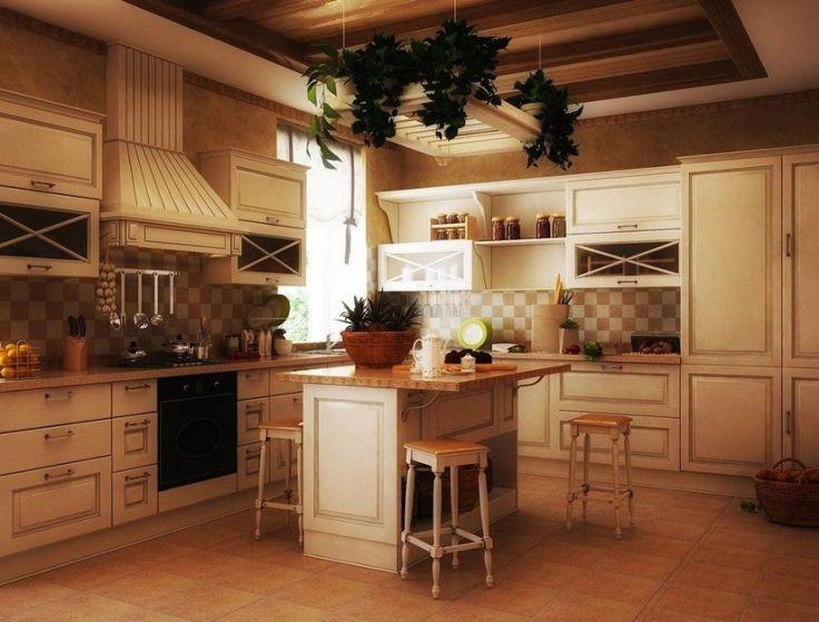 Mediterranean Country Kitchen