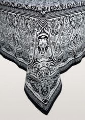 Midnight Paisley Tablecloth