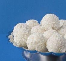 Recette - Boule fondante noix coco - Proposée par 750 grammes