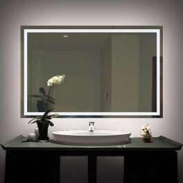 Cute Badspiegel mit LED Lausanne