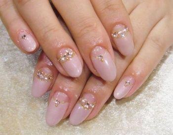 pink wedding nails | rose pink nails | Wedding ideas