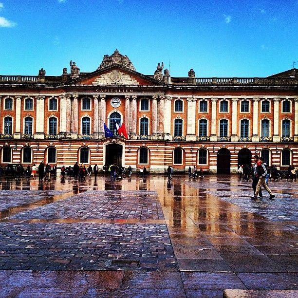 Place du Capitole à Toulouse, Midi-Pyrénées