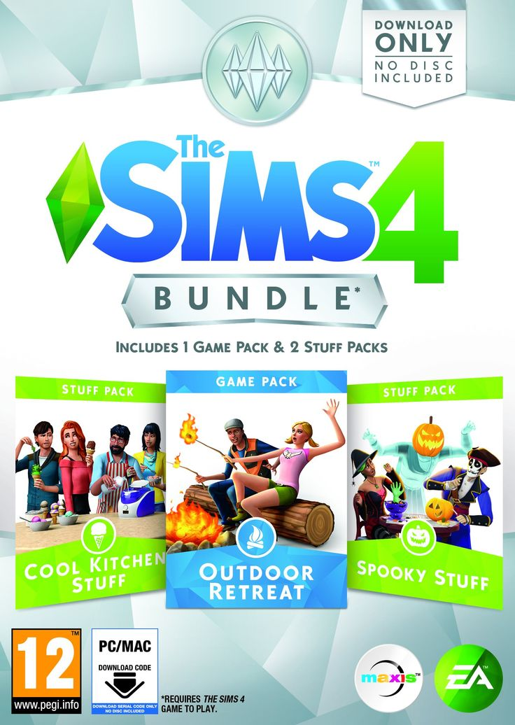 The Sims 4 Bundle Pack 3 (Download Only) £25