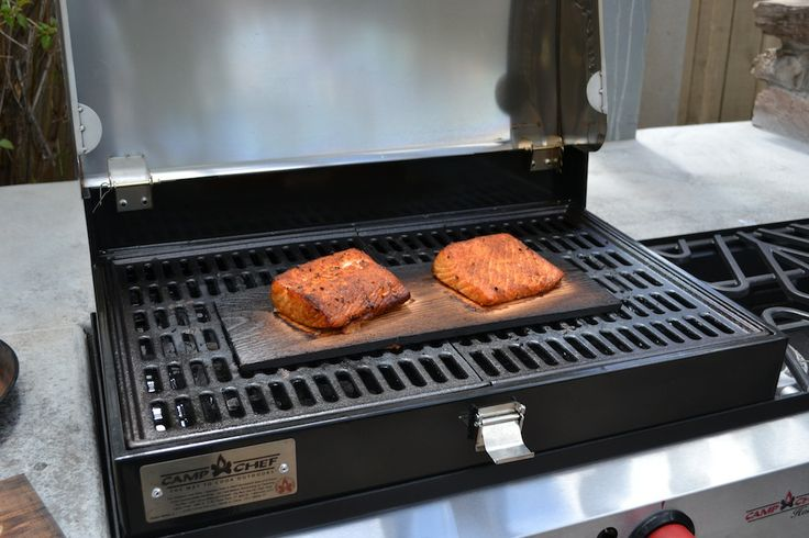 The perfect way to grill, smoke, or even bake on the back patio or in the back woods. The Camp Chef Deluxe Stainless BBQ Grill Box.