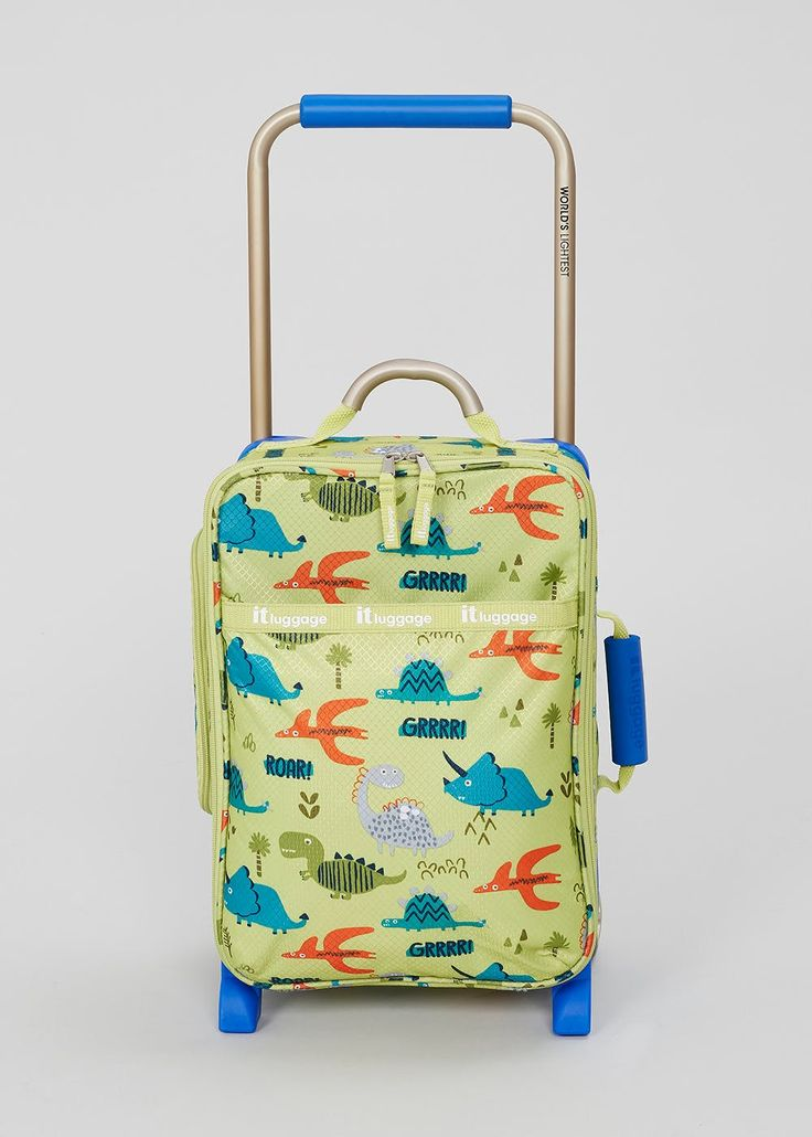 IT Luggage World's Lightest Collection Kids Dinosaur – Matalan