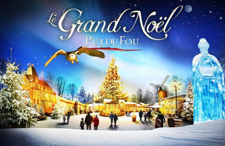 """Soyez le 21ème gagnant du #LeGrandNoel en réépinglant cette photo !   Vous avez jusqu'à demain (samedi 20/12/14) pour tenter de remporter le CD des plus belles musiques du """"Mystère de Noël"""" ! #PuyduFou"""