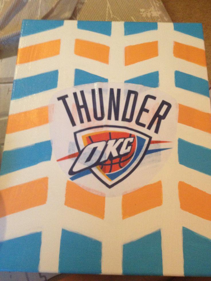OKC Thunder Decorations