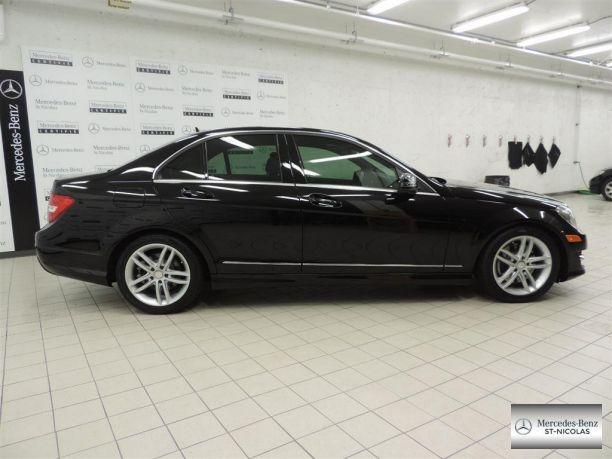 Mercedes-Benz C-Class 2013 d'occasion à vendre chez MERCEDES-BENZ ST-NICOLAS 26900$ 200516