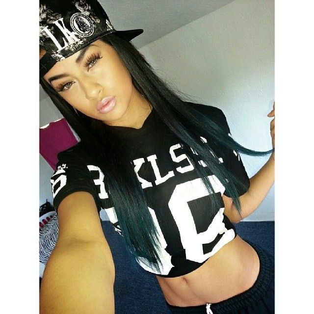 Last Kings SnapBack Football Shirt Asian Beauty Mixed Chicks Pretty Girl Swag Dope Clothing Urban Streetwear Fashion Style Fashionista Outfit