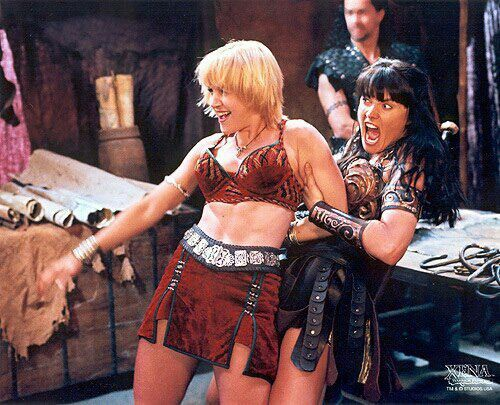 Gabrielle and xena warrior princess