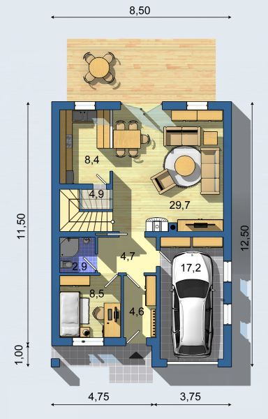 To Realization House Project Kompakt 1001 Page) You Get A Free Itemized  Budget.