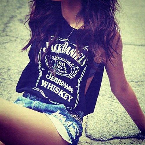 Mmhmm: Tanks Tops, Summer Outfits, Jack O'Connel, Denim Shorts, Jeans Shorts, Whiskey Girls, Jackdaniel, Jack Daniel Shirts, Summer Clothing
