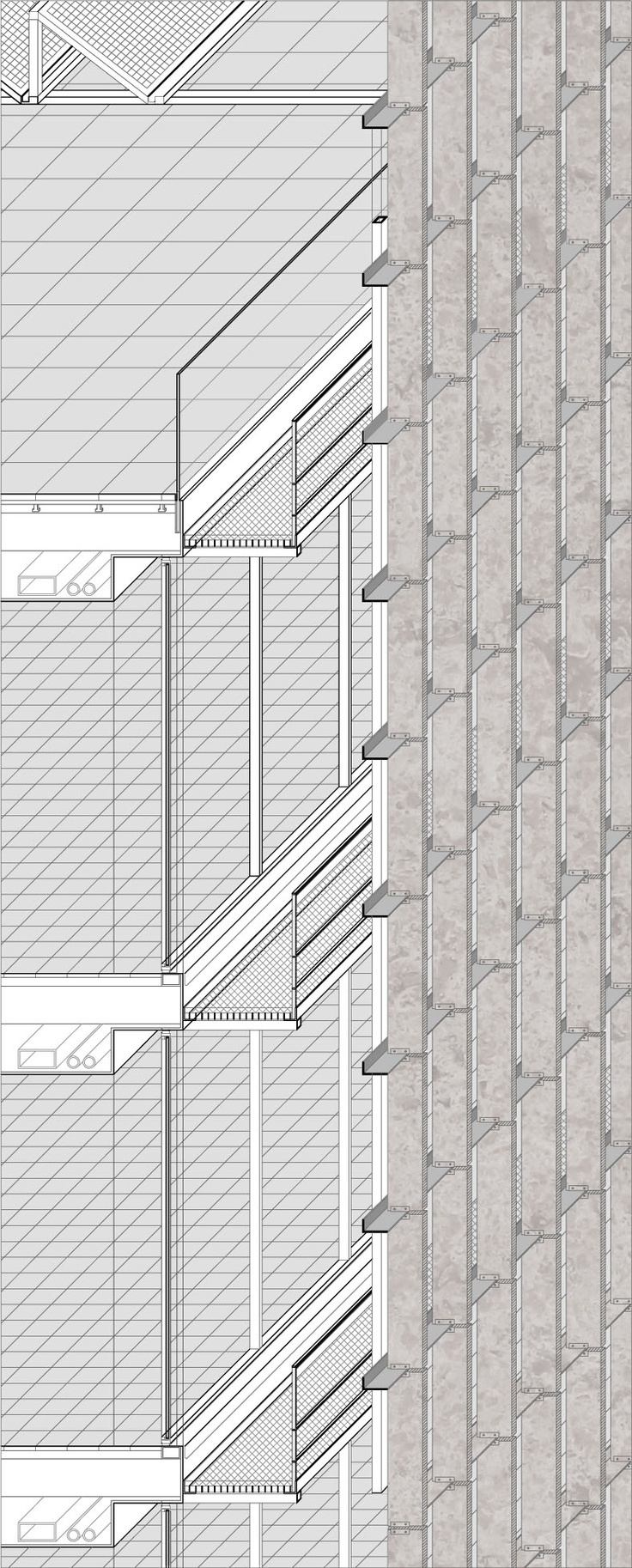 A.M. Qattan Foundation Bulding Winning Proposal / Donaire Arquitectos