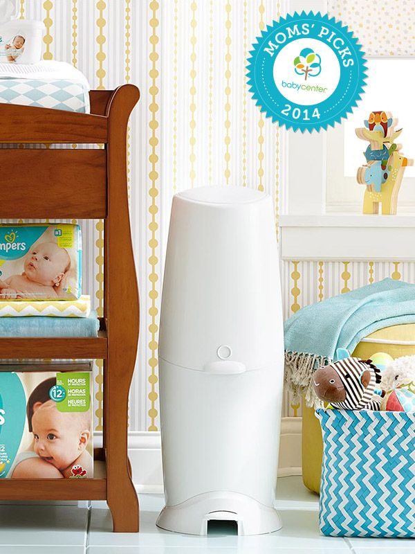 A BabyCenter Top Pick, the Diaper Genie keeps your nursery smelling sweeter.