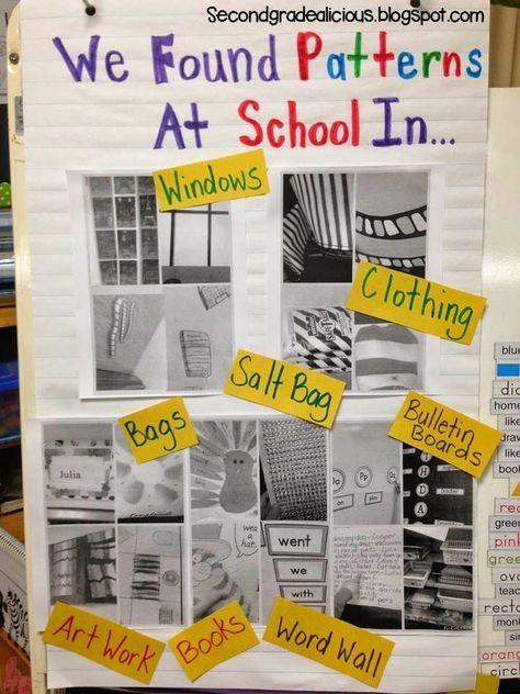 Math Inquiry Outside: Patterning