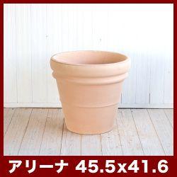 ヘビーリムアリーナ15号≪植木鉢/イタリアンテラコッタ鉢/素焼き鉢/イタリア≫