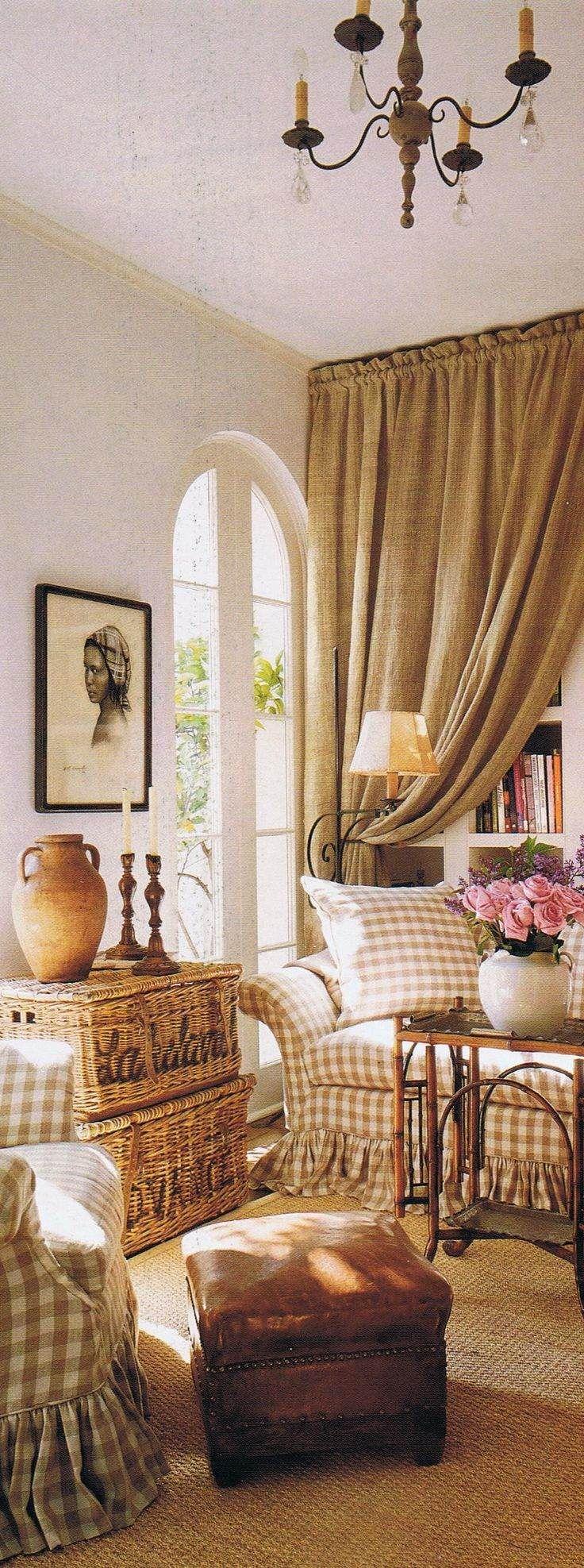 Le più belle foto con tessuti a quadretti in stile Country e Shabby Chic | Arredamento Provenzale