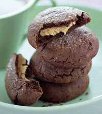Peanut Butter cookies: Peanuts, Sweet, Recipes, Cookie Recipe, Chocolate Cookie, Peanut Butter, Butter Munchies