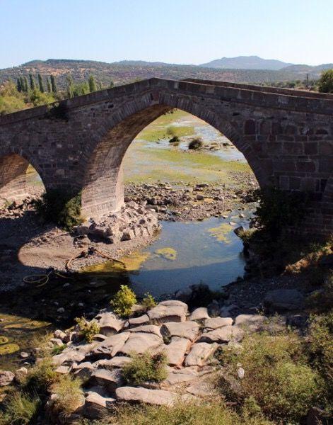 Behramkale (Hüdavendigâr) Köprüsü, Çanakkale.