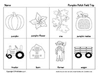 pumpkin patch field trip checklist