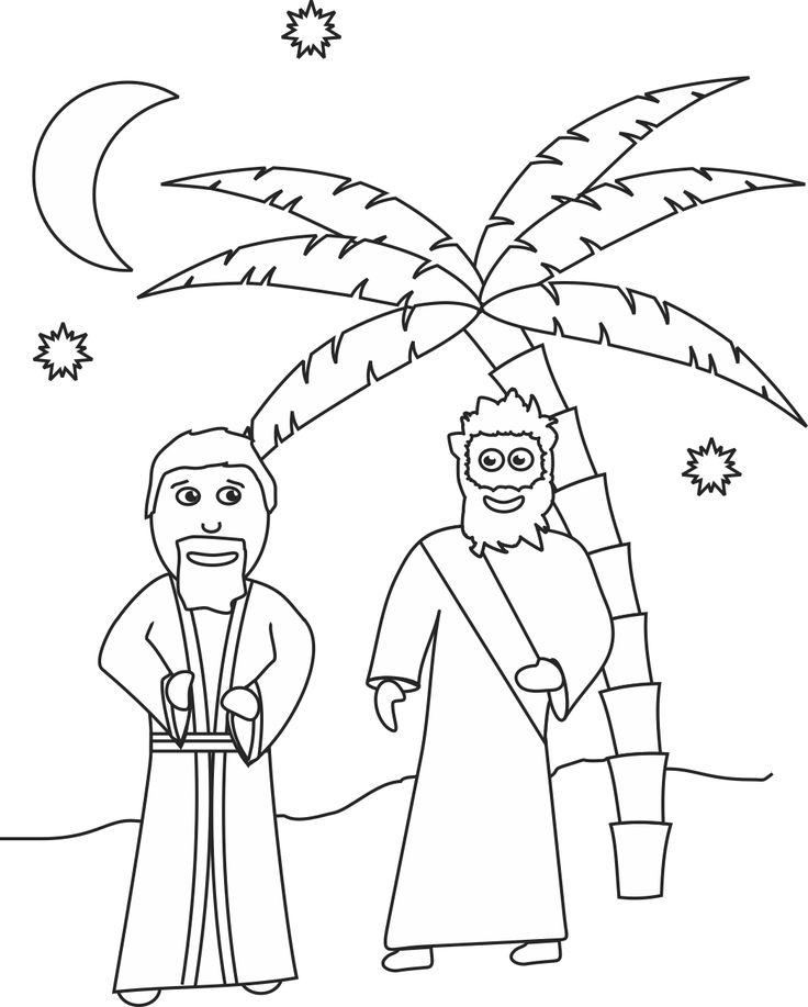 My Children's Curriculum: Jesus teaches Nicodemus
