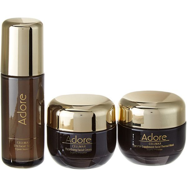Adore Cellmax Complete Anti Aging Set With Luxury Gift Set 100 Pab Liked On Polyvore Featuring Beauty Products Skincare Face Care No Color Antiag Belleza