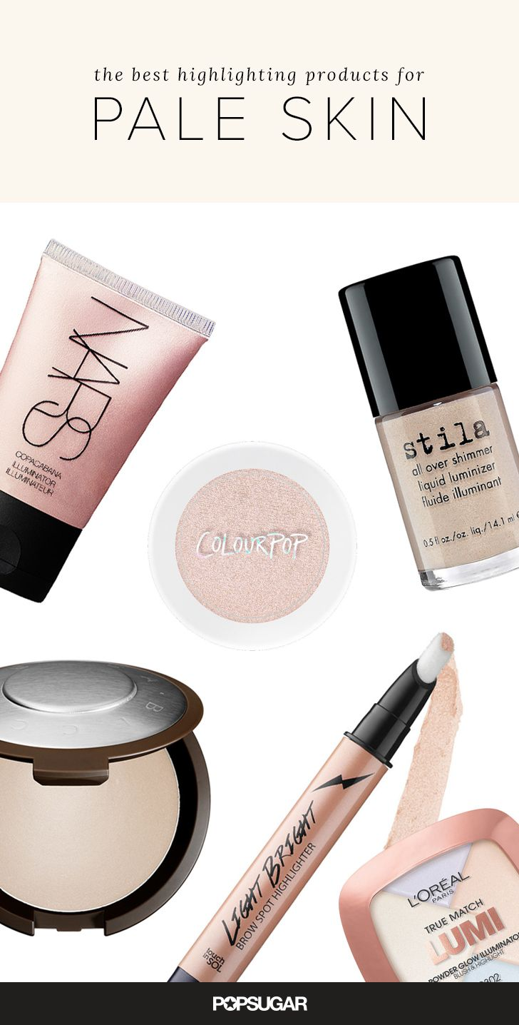 Strobing is the hottest trend in beauty right now, but even if you know how to DIY the technique, you may be feeling left out if you have pale skin — I know how that is. Don't worry, fellow pasty princesses! I scoured the market for the lightest illuminators. Not only will these show up, they will make your bone structure pop.