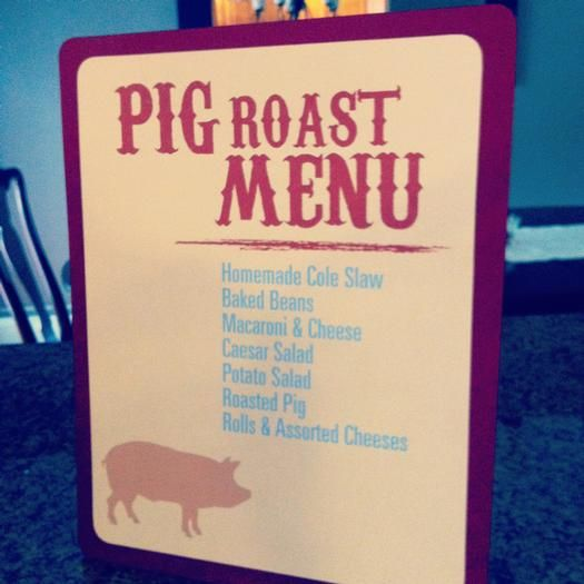 Hostess with the Mostess® - Summer Pig Roast Party