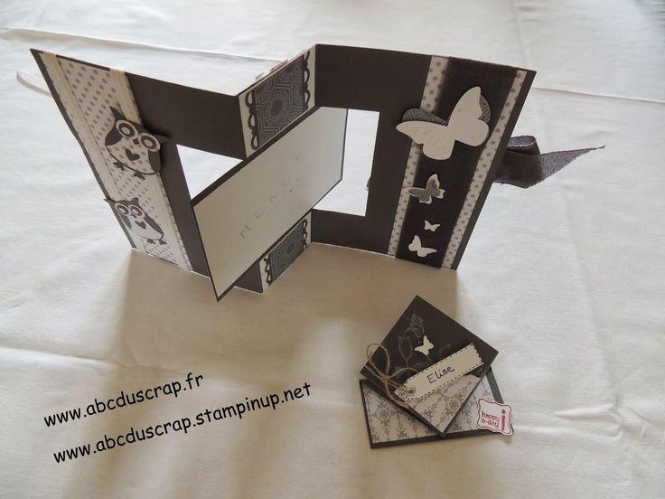 ABC du Scrap: Tuto carte pivotante