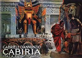Cabiria is a 1914 Italian silent epic film, directed by Giovanni Pastrone and shot in Turin. The film is set in ancient Sicily, Carthage, and Cirta during the period of the Second Punic War (218–20…